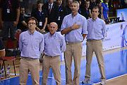DESCRIZIONE : Chomutov Qualificazioni Europei 2013 Repubblica Ceca Italia<br /> GIOCATORE : team italia<br /> CATEGORIA : inno nazionale<br /> EVENTO : Qualificazioni Europei 2013<br /> GARA : Repubblica Ceca Italia<br /> DATA : 18/08/2012 <br /> SPORT : Pallacanestro <br /> AUTORE : Agenzia Ciamillo-Castoria/GiulioCiamillo<br /> Galleria : Fip Nazionali 2012 <br /> Fotonotizia : Chamutov Qualificazioni Europei 2013 Repubblica Ceca Italia<br /> Predefinita :