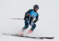 "14.01.2012, Patscherkofel, Innsbruck, AUT, Olympische Jugend Winterspiele, Ski Alpin, Super G, Damen, im Bild Eun-Hwa Jo (KOR) // Eun-Hwa Jo (KOR) during the Womens Super G of the Winter Youth Olympic Games at the ""Patscherkofel"", Innsbruck, Austria on 2012/01/14, EXPA Pictures © 2012, PhotoCredit: EXPA/ Juergen Feichter"