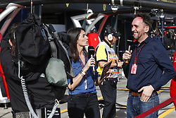 March 24, 2018 - Melbourne, Victoria, Australia - LAFFITE Margot, MONTAGNY Franck (fra), TV presenter commentateur Canal+, portrait during 2018 Formula 1 championship at Melbourne, Australian Grand Prix, from March 22 To 25 - s: FIA Formula One World Championship 2018, Melbourne, Victoria : Motorsports: Formula 1 2018 Rolex  Australian Grand Prix, (Credit Image: © Hoch Zwei via ZUMA Wire)