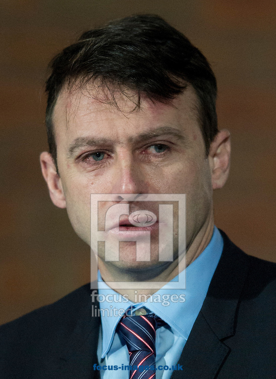 Nottingham Forest manager Dougie Freedman before the Sky Bet Championship match at Ewood Park, Blackburn<br /> Picture by Russell Hart/Focus Images Ltd 07791 688 420<br /> 14/12/2015