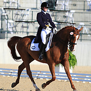 Maura O'Sullivan and Pik Czar at the 2010 North American Young Rider Championships in Lexington, Kentucky.