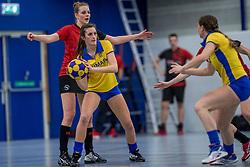 17-03-2018 NED: Korfbal SKF v Antilopen, Maarssen<br /> SKF wint met 20-17 in Maarssen / Ilse van Ekris #5