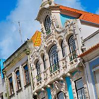 Alberto Carrera, Traditional architecture, Central Channel, Channels of Lagoon, Ria de Aveiro, Aveiro, Portugal, Europe