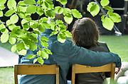 Nederland, Nijmegen, 20-5-2018MusicMeeting. Festivalterrein in park Brakkenstein. Traditioneel met pinksteren. Optredens van acts, bands, artiesten uit de wereld muziek, worldmusic . Saxofonist Donny McCaslin Group .Foto: Flip Franssen