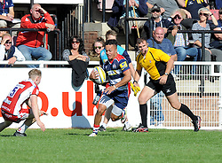 Elias Caven of Bristol United - Mandatory by-line: Paul Knight/JMP - 02/10/2016 - RUGBY - Hyde Park - Taunton, England - Bristol United v Gloucester United - Aviva A League