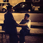 France, Paris, 05-2003..Clandestine Chinese immigrant Mr Wang, 42, looks for a husband in Paris. He is married with a wife and a son in China, but is seeking French nationality in order to get work. ..Wang is part of a new wave of immigrants from China?s northeast, home to millions of former cradle-to-grave factory workers laid off by closures. ..