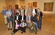 back row: Allen Jones, Bob Freeman, Steve Willats, Barry Flanaghan, Barry Lategan, Robert Whittaker, Philip King, Peter Cook, Liliane Lijin, : 1 on own: Bernard Cohen, Gustav Metzger, Frank Bowling, Peter Blake, Anthony Caro, Gilian Ayres: Colin Self, Mary Quant ,Bruce Lacey,  Art and the 60s: This was Tomorrow, Tate,29 June 2004. SUPPLIED FOR ONE-TIME USE ONLY-DO NOT ARCHIVE. © Copyright Photograph by Dafydd Jones 66 Stockwell Park Rd. London SW9 0DA Tel 020 7733 0108 www.dafjones.com