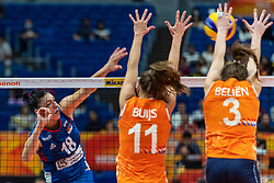 19-10-2018 JPN: Semi Final World Championship Volleyball Women day 20, Yokohama<br /> Serbia - Netherlands / Tijana Boskovic #18 of Serbia