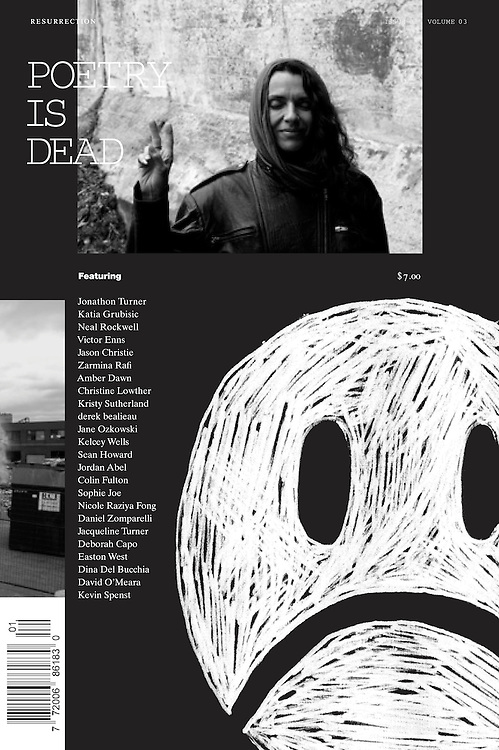 Cover Poetry is Dead Winter/Spring 2012