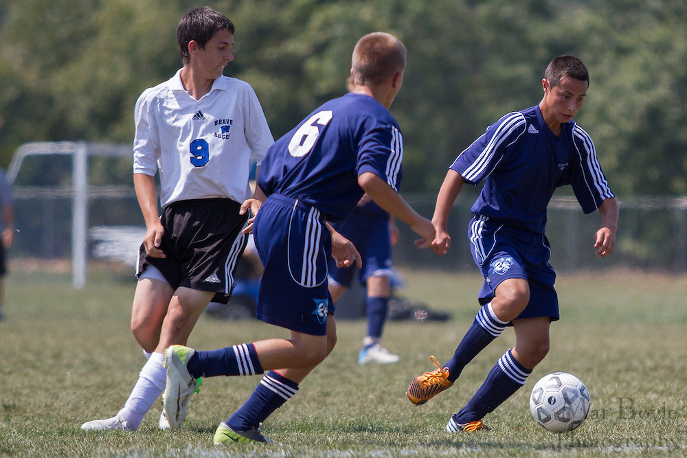 Williamstown High School freshman soccer host St Augustine Prep High School on Friday August 31, 2012. (photo / Mat Boyle)