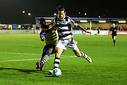 Forest Green Rovers Darren Carter(12) during the Vanarama National League match between Solihull Moors and Forest Green Rovers at the Automated Technology Group Stadium, Solihull, United Kingdom on 25 October 2016. Photo by Shane Healey.