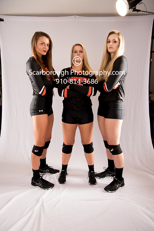2017 Campbell University Volleyball Portraits Teamshots and Promo
