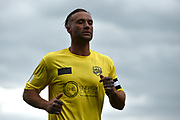 Calum Best during the Sellebrity Soccer match between Katie Price XI and Kerry Katona XI at the Pirelli Stadium, Burton upon Trent, England on 29 April 2018. Picture by Richard Holmes.