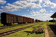 Railway in Cardenas, Matanzas, Cuba.