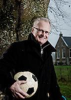 Foto: Marco Hofsté  Voetbal trainer Foppe de Haan . Heerenveen, Nederlands jeugd elftal