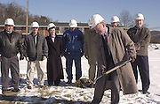 15754Ohio University Employees Credit Union Groundbreaking on E. State Street