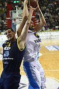 DESCRIZIONE : Cremona Lega A 2012-2013 Vanoli Cremona Sutor Montegranaro<br /> GIOCATORE : Andrija Stipanovic<br /> SQUADRA : Vanoli Cremona<br /> EVENTO : Campionato Lega A 2012-2013<br /> GARA : Vanoli Cremona Sutor Montegranaro<br /> DATA : 24/02/2013<br /> CATEGORIA : Rimbalzo<br /> SPORT : Pallacanestro<br /> AUTORE : Agenzia Ciamillo-Castoria/F.Zovadelli<br /> GALLERIA : Lega Basket A 2012-2013<br /> FOTONOTIZIA : Cremona Campionato Italiano Lega A 2012-13 Vanoli  Cremona Sutor Montegranaro<br /> PREDEFINITA :