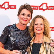 NLD/Amsterdam/20180622 - Inloop Dance4life gala 2018, Eveline Aendekerk directeur van Dance4Life en ........