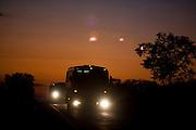 Iturama_MG, Brasil...Rodovia MG 255 em Iturama, Minas Gerais...The highway MG 255 in Iturama, Minas Gerais...Foto: LEO DRUMOND / NITRO