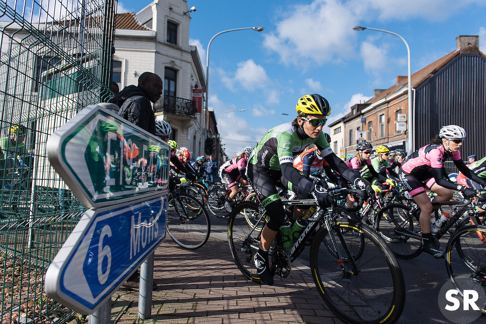 Valentina Scandolara Cylance Pro Cycling - Le Samyn des Dames 2016, a 113km road race from Quaregnon to Dour, on March 2, 2016 in Hainaut, Belgium.