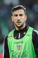 Pablo MARTINEZ - 17.10.2015 - Saint Etienne / Gazelec Ajaccio - 10eme journee de Ligue1<br /> Photo : Jean Paul Thomas / Icon Sport