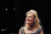 Prima La Musica<br /> Opera At Home Ensemble<br /> at The Arcola Theatre, London, Great Britain <br /> 25th August 2011 <br /> Rehearsal <br /> Grimeborn The Opera Festival<br /> directed by Jose Manuel Gandia<br /> <br /> Alexia Mankovskaya (as Eleonora)<br /> <br /> Photograph by Elliott Franks