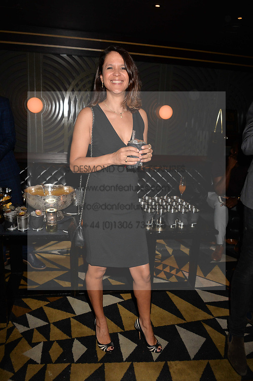 Lisa Moorish at the Quaglino's Q Legends Summer Launch Party hosted by Henry Conway at Quaglino's, 16 Bury Street, London England. 18 July 2017.<br /> Photo by Dominic O'Neill/SilverHub 0203 174 1069 sales@silverhubmedia.com