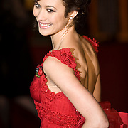 London Oct 29  Olga Kurylenko attends the Royal World Premiere Quantum of Solace at Odeon Leicester Square on Oct 29th 2008 in London England..***Licence Fee's Apply To All Image Use***.XianPix Pictures  Agency  tel +44 (0) 845 050 6211 e-mail sales@xianpix.com www.xianpix.com