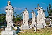 Abraham family grave site at City Cemetery Vicksburg, Mississippi.