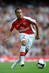 THEO WALCOTT.ARSENAL FC.EMIRATES CUP 2008, LONDON.EMIRATES STADIUM, LONDON, ENGLAND.02 August 2008.DIU82365..  .WARNING! This Photograph May Only Be Used For Newspaper And/Or Magazine Editorial Purposes..May Not Be Used For, Internet/Online Usage Nor For Publications Involving 1 player, 1 Club Or 1 Competition,.Without Written Authorisation From Football DataCo Ltd..For Any Queries, Please Contact Football DataCo Ltd on +44 (0) 207 864 9121
