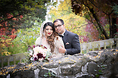 Anne's complete wedidng photo collection - Taskia & Muhammad's fall wedding in Canada