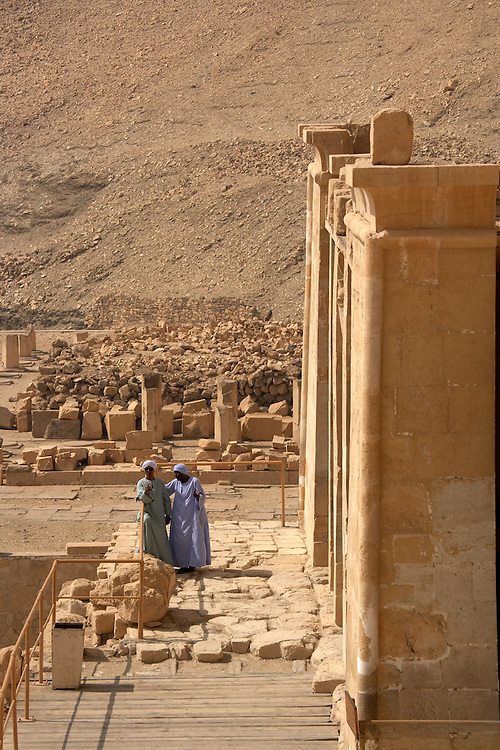 .Hatshepsut Temple at Deir al-Bahri, Egypt
