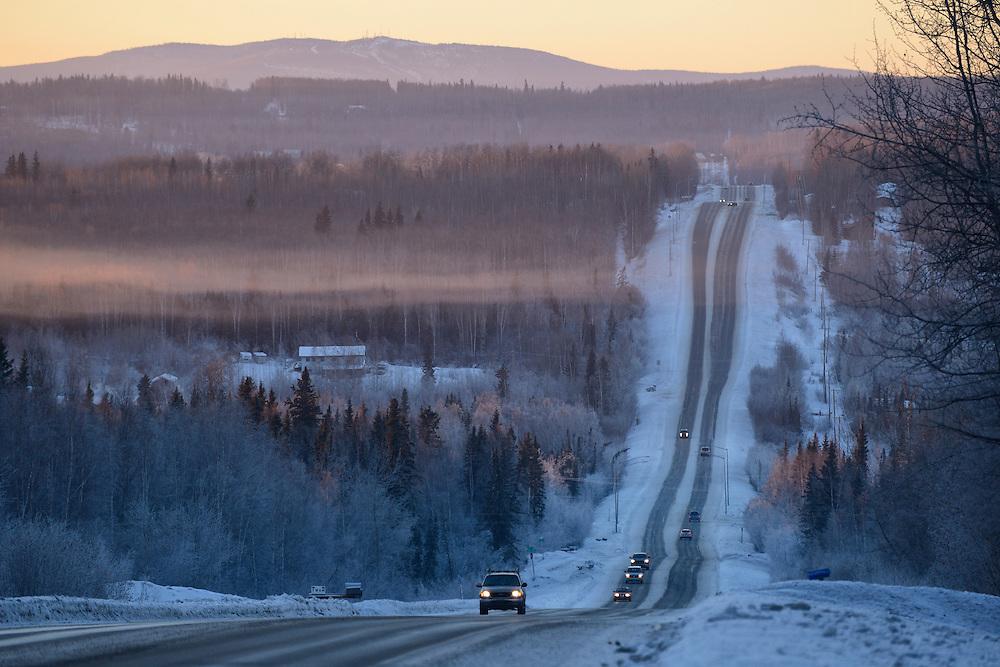 Chena Hot Springs road,Fairbanks,Alaska,USA