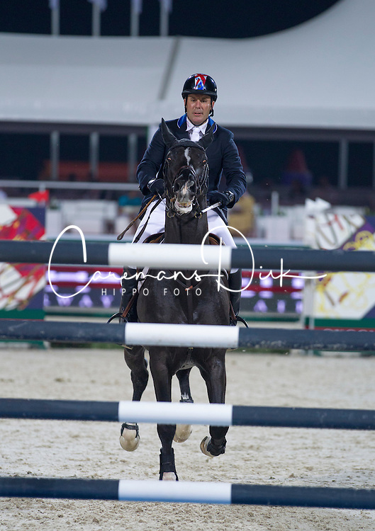 Funnell William (GBR) - Billy Congo<br /> Final Global Champions Tour - Abu Dhabi 2012<br /> &copy; Hippo Foto - Cindy Voss