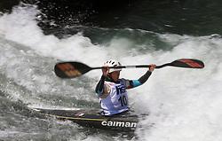 Natsumi Murayama (JPN) of Women's K1 Kayak Single at Heats - 1st Run of ICF Kayak/Canoe Slalom Racing World Cup Tacen 2008, on June 28, 2008, Ljubljana, Slovenia. (Photo by Vid Ponikvar / Sportal Images)../ Sportida)