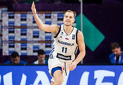 Jaka Blazic of Slovenia reacts during the Final basketball match between National Teams  Slovenia and Serbia at Day 18 of the FIBA EuroBasket 2017 at Sinan Erdem Dome in Istanbul, Turkey on September 17, 2017. Photo by Vid Ponikvar / Sportida