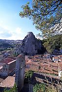 Roccastrada's landscape