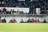 20120103: GUIMARAES, PORTUGAL - Portuguese League Cup, 3rd Stage, Round 1: VSC Guimaraes vs SL Benfica. <br /> In photo: Benfica staff and players.<br /> PHOTO: CITYFILES