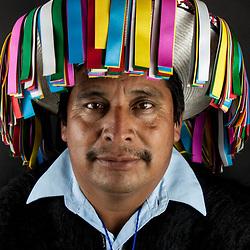 Indigeno nazione Chamula, partecipante del CNI
