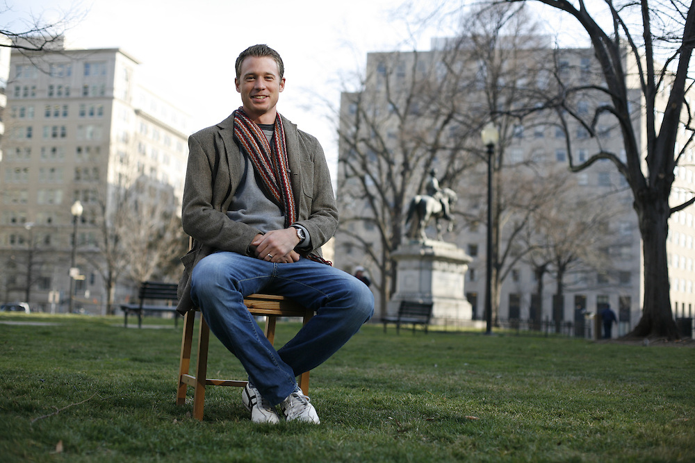 Washington, Feb. 25, 2008 - Richard Zajac-Sannerhollm, visiting scholar, George Washington University