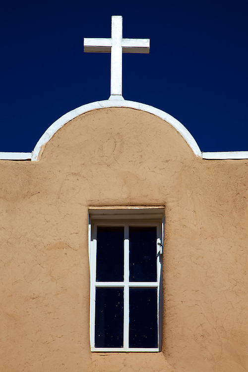 Built in the late 1700s and made famous by Georgia O'Keeffe with her painting of the church's massive adobe walls simply looming up into the sky, the San Francisco de Asis Church is still an integral part of its community.