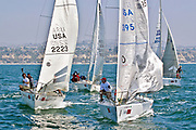 Sailing on the Pacific Ocean in Dana Point California