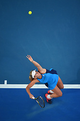 Coco Vandeweghe (USA) playing at the Hopman Cup at the Perth Arena, in Perth, Australia, on january the 7th, 2017. Photo by Corinne Dubreuil/ABACAPRESS.COM