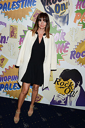 LAUREN GURVICH at the Hoping Foundation's 'Rock On' Benefit Evening for Palestinian refuge children held at the Cafe de Paris, London on 20th June 2013.