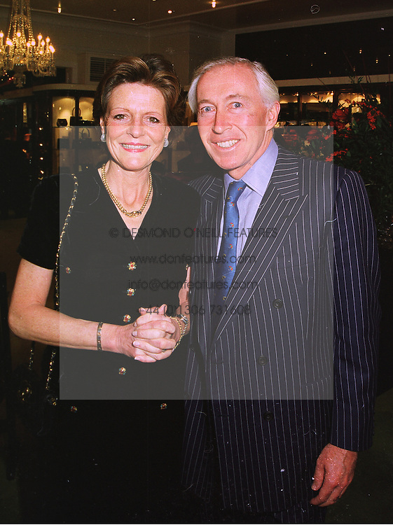 MR & MRS JOHN BECKWITH he is the leading businessman and the uncle of Tamara Beckwith, at a party in London on 26th November 1997.MDS 36
