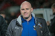 Rob Page (Port Vale) during the Sky Bet League 1 match between Doncaster Rovers and Port Vale at the Keepmoat Stadium, Doncaster, England on 26 January 2016. Photo by Mark P Doherty.