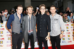 © Licensed to London News Pictures. 07/10/2013, UK. Danny Jones; Dougie Poynter; Tom Fletcher; Harry Judd; McFly,  Pride of Britain Awards, Grosvenor House Hotel, London UK, 07 October 2013. Photo credit : Richard Goldschmidt/Piqtured/LNP