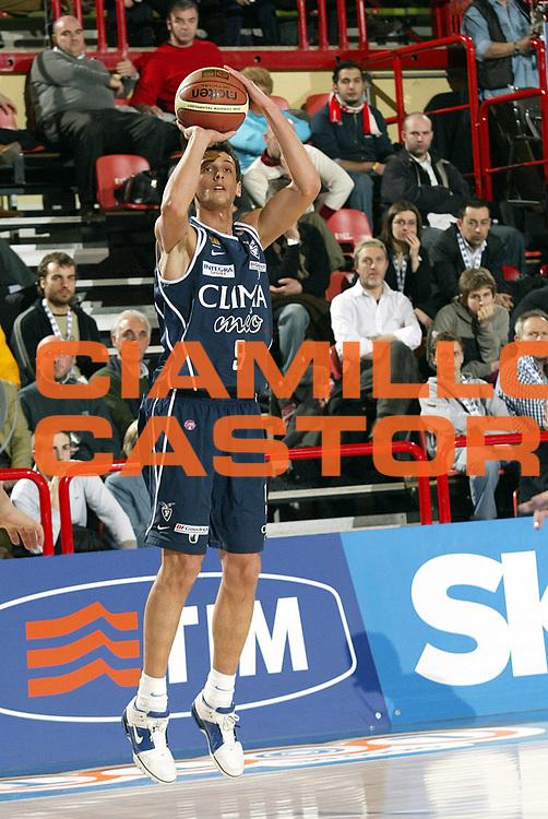 DESCRIZIONE : FORLI FINAL 8 COPPA ITALIA LEGA A1 2005 QUARTI DI FINALE GIOCATORE : BELINELLI SQUADRA : Climamio Bologna DATA : 2009-08-27CATEGORIA : SPORT : Pallacanestro AUTORE : AGENZIA CIAMILLO & CASTORIA/G.Ciamillo