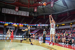 NORMAL, IL - February 27: Megan Talbot shoots an uncontested three point shot during a college women's basketball game between the ISU Redbirds and the Bears of Missouri State February 27 2020 at Redbird Arena in Normal, IL. (Photo by Alan Look)