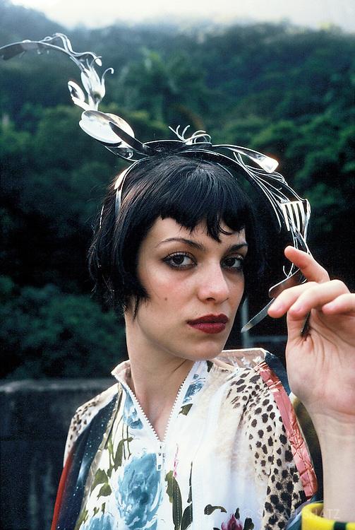 Fashion in Rio, Brazilian designers, at the Parque Lage
